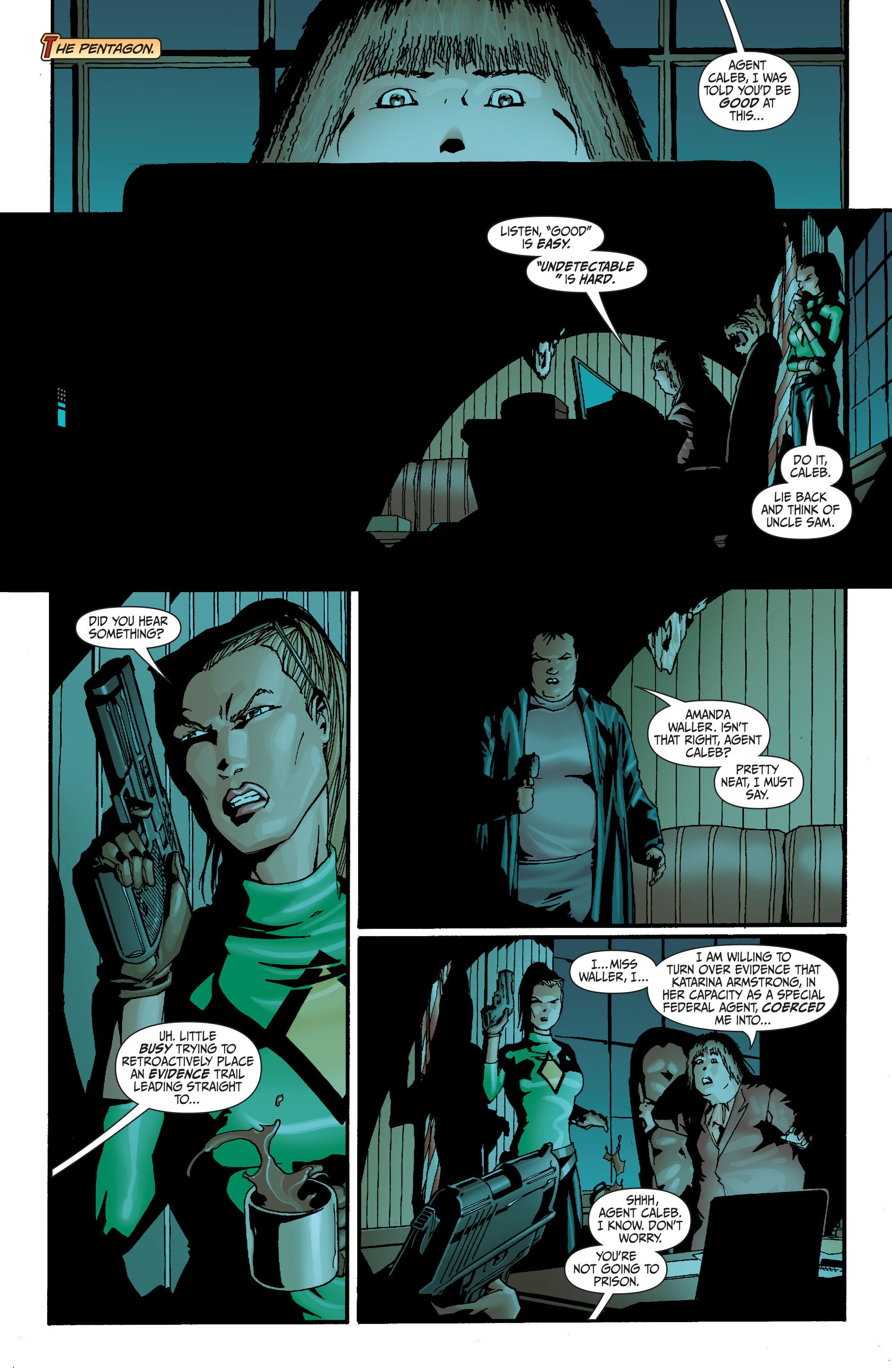 Read online Secret Six (2008) comic -  Issue #27 - 19
