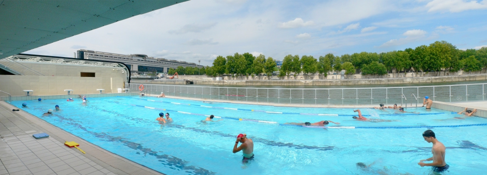 We didn 39 t come here for the grass how to beat the heat for Piscine georges vallerey
