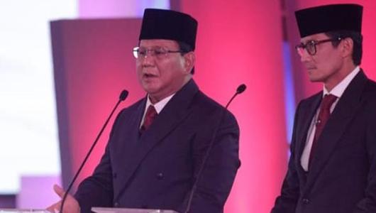 Minta Jawab Pertanyaan Jokowi, Prabowo Lupa Sandiaga Tak Lagi Kader Gerindra