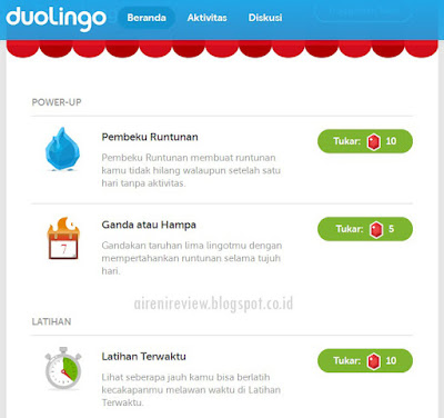 Duolingo App toko ligot