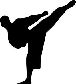 KUMPULAN Gambar Animasi Bergerak Pencak Silat Karate ...