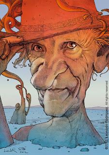 caricatura de moebius