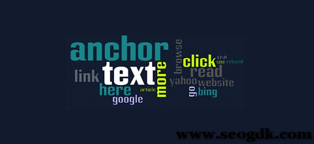 Anchor Text Optimization