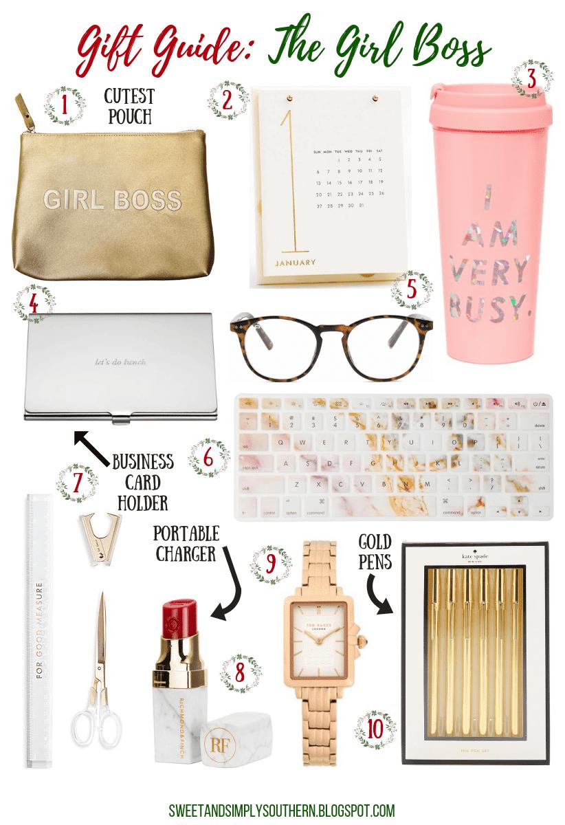 gift guide for the girl boss