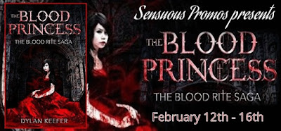 The Blood Princess: Episode 1 A Vampire Dark Fantasy Novel (Blood Rite Saga Book 1) by @Dylan_R_Keefer #YA #PNR #UF