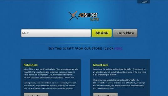 Php Adshort Lite – Adfly Clone Scripti İndir / Download / Full