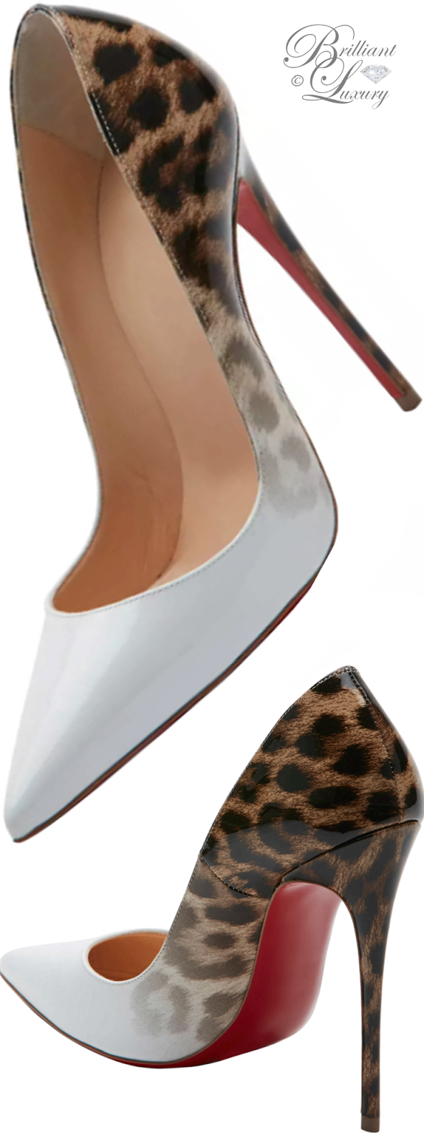 Brilliant Luxury ♦ Christian Louboutin So Kate Degrade Red Sole Pump