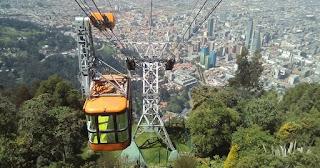teleférico cerro de monserrate bogota