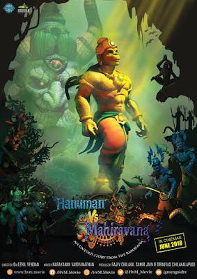 Hanuman vs. Mahiravana (2018) Hindi 720p WEB-DL 700MB