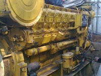 marine motors caterpillar auxiliary engines