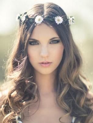 Cómo conseguir un accesorios para peinados Colección de estilo de color de pelo - La moda en tu cabello: Lindos peinados con accesorios de ...