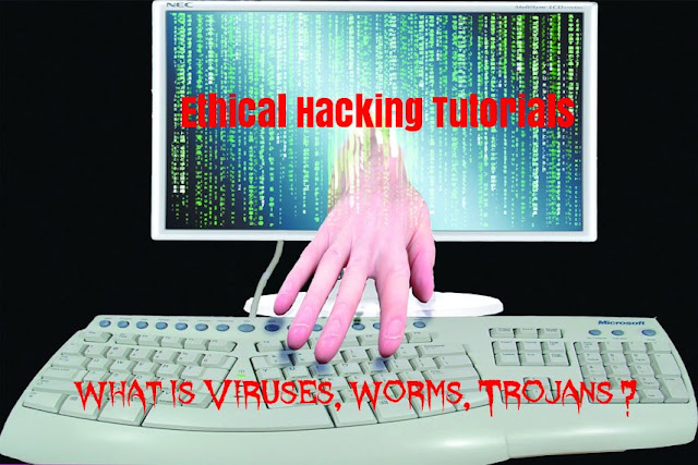 Ethical Hacking Tutorials-What is Viruses, Worms, Trojans ?
