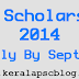 Central Sector Scheme (CSS) Scholarship 2014
