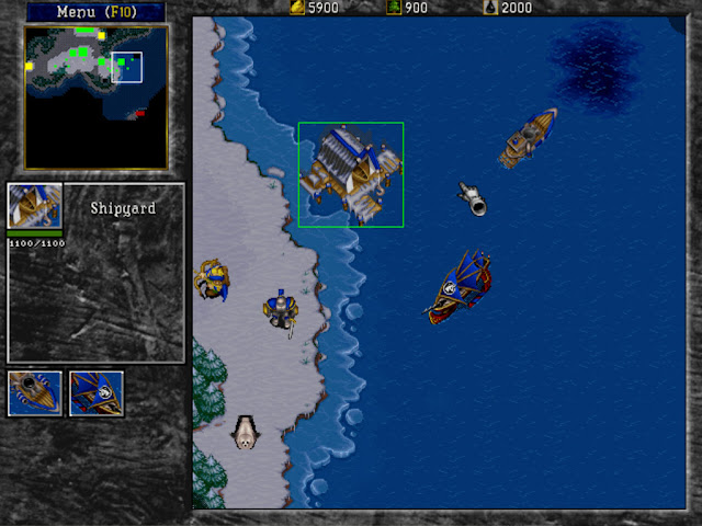 Warcraft 2 Shipyard Screenshot