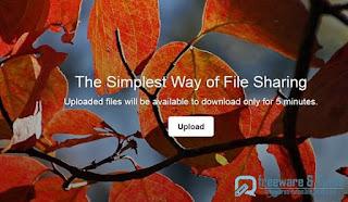 5 Minute Storage : partage de fichiers original