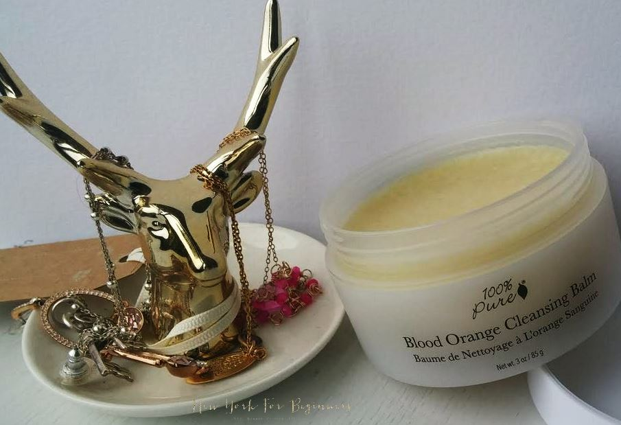 100% Pure Blood Orange Cleansing Balm Review New York For Beginners