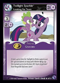 My Little Pony Twilight Sparkle, Looking For Team Primer Deck CCG Card