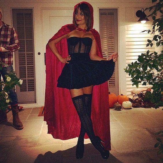 lea michelle no halloween