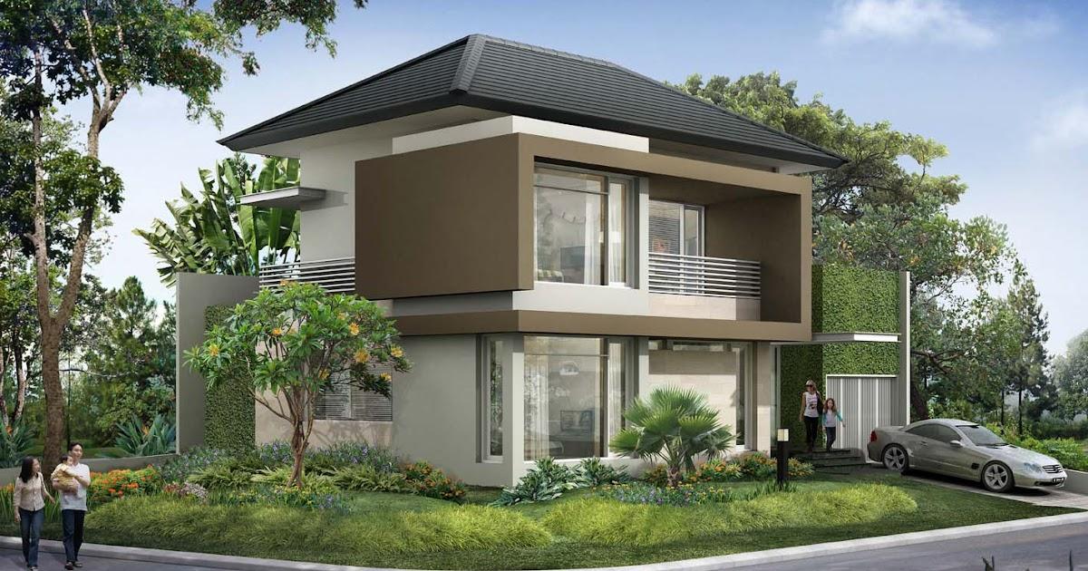 Rumah Minimalis: Keuntungan Arsitektur Rumah Sudut (Hoek)