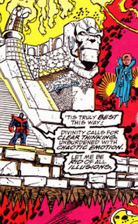 From Infinity Gauntlet Issue 5. The Marvel Cinematic Universe is building to this.