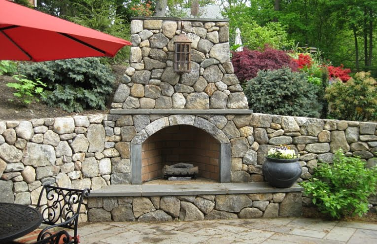 Greayers Exterior Design ~ occinteriordesign on Fireplace In Yard id=17451