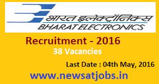 bharat+electronics+ltd+recruitment+2016
