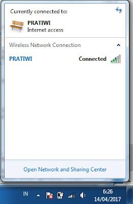 cara menghidupkan atau mengaktifkan wifi di laptop
