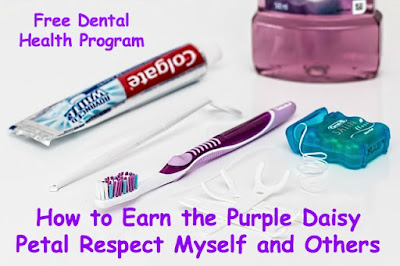 How to earn the Daisy Girl Scout Purple Petal Respect Myself and Others
