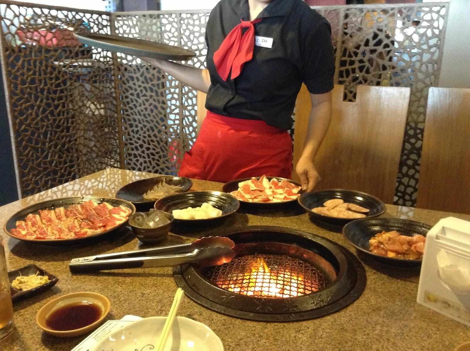 tajimaya yakiniku grill eat all you can mall of asia the foodinista rh thefoodinistaph blogspot com