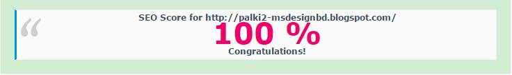 SEO Score of Palki 2