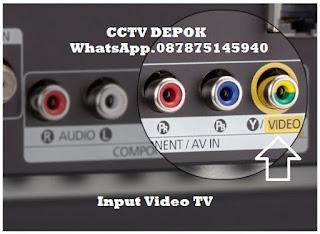 CCTV, CCTV Depok, Video Out DVR