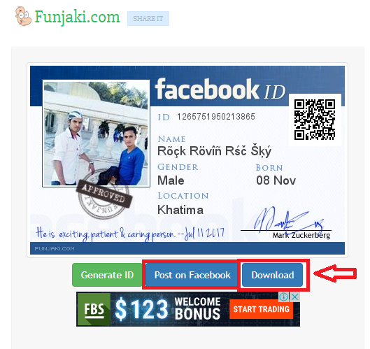 HOW CAN CREATE FACEBOOK ID CARD FB ID CARD KAISE BANAYE