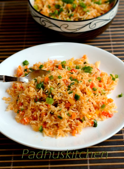 Schezwan fried rice recipe how to make veg schezwan fried rice easy recipe schezwan fried rice ccuart Choice Image
