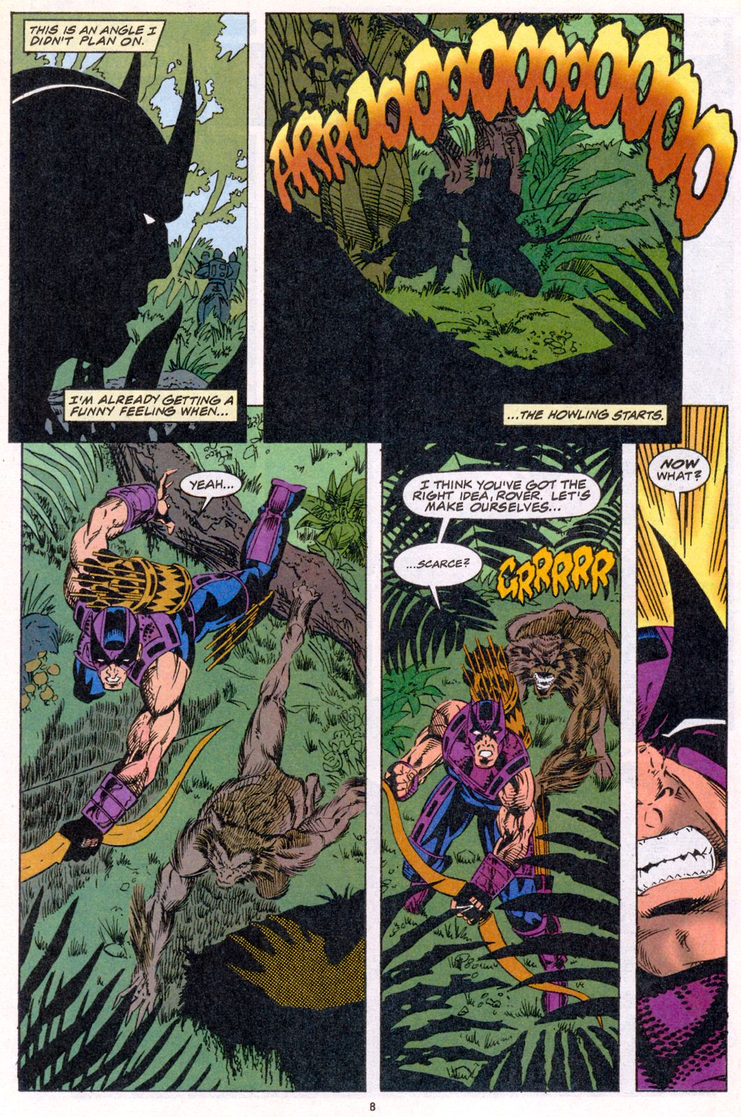 Hawkeye (1994) Issue #4 #4 - English 8