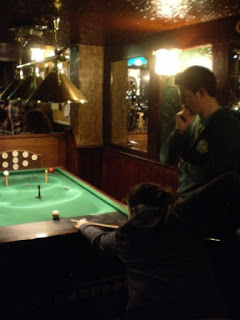 Bar Billiards at The Eldon Arms