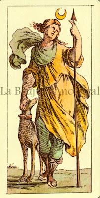 Tarot de Mitelli: La Luna