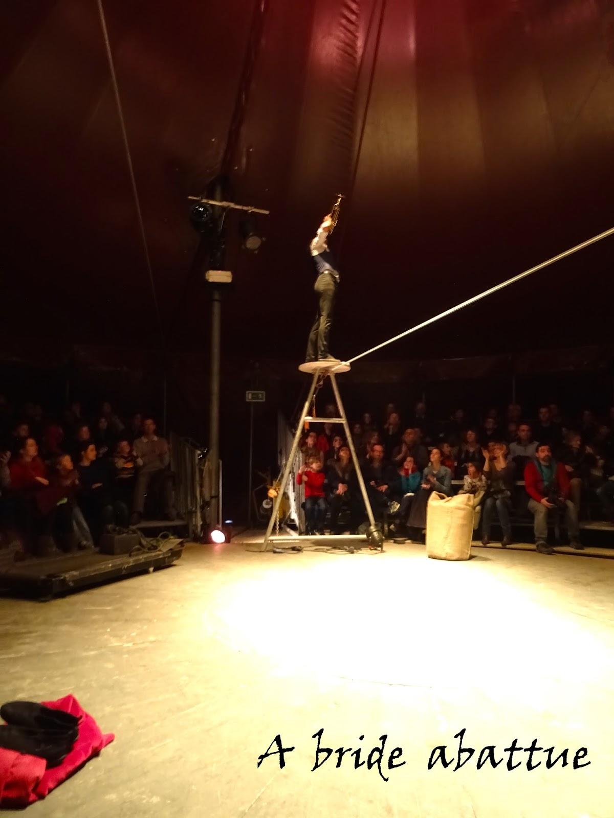 A Bride Abattue LHomme Cirque De Et Avec David Dimitri