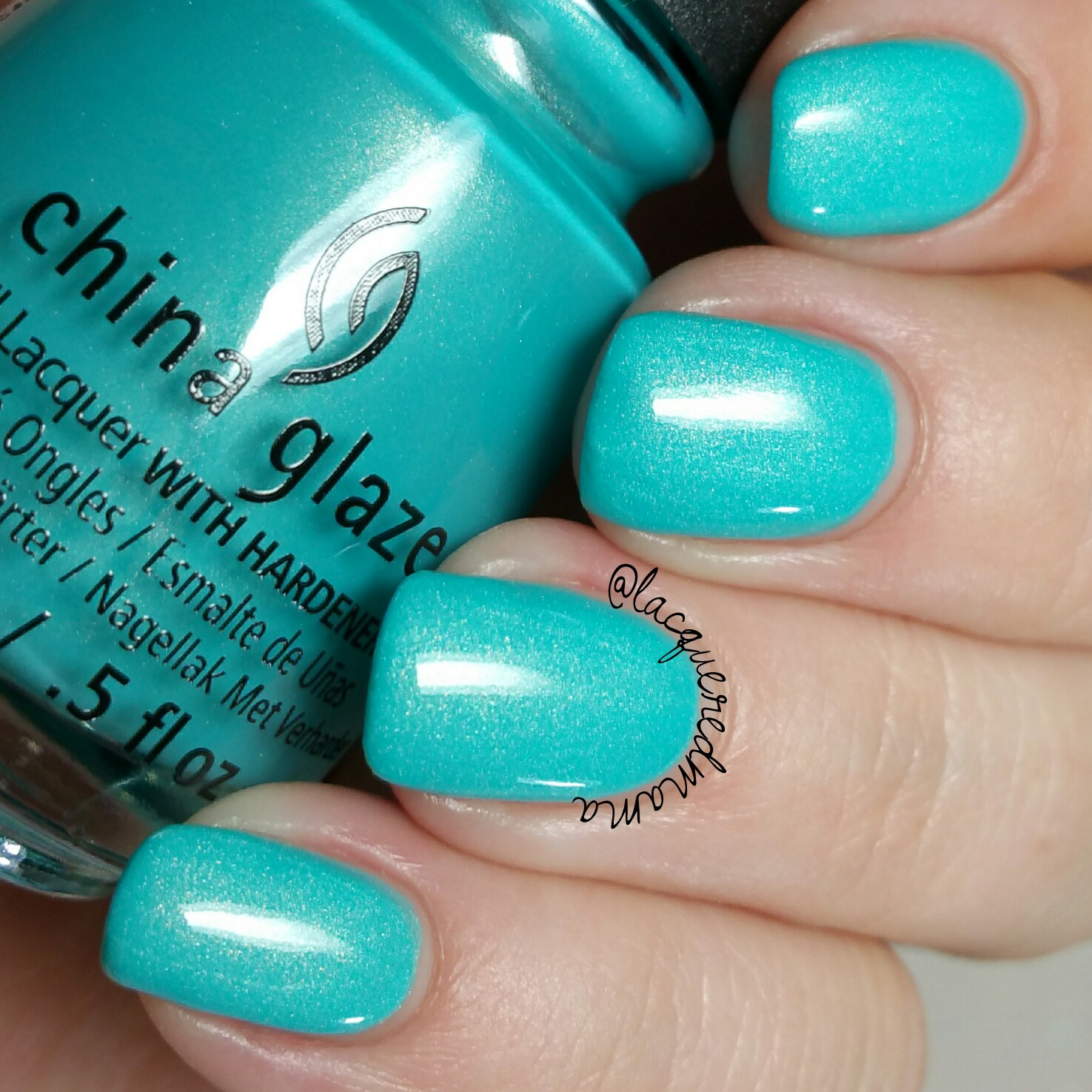 LacqueredMama: China Glaze - Lite Brites Collection (swatches and ...