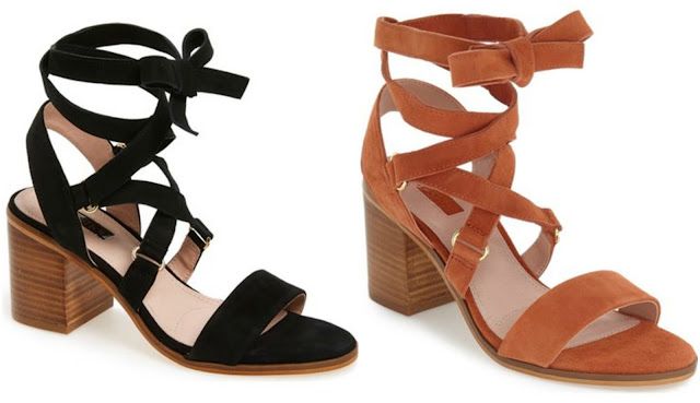 Topshop Nadra Lace Up Sandal $40 (reg $80)