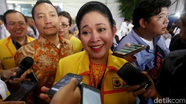 Titiek Soeharto 'Tembak' Jokowi, Timses Membentengi