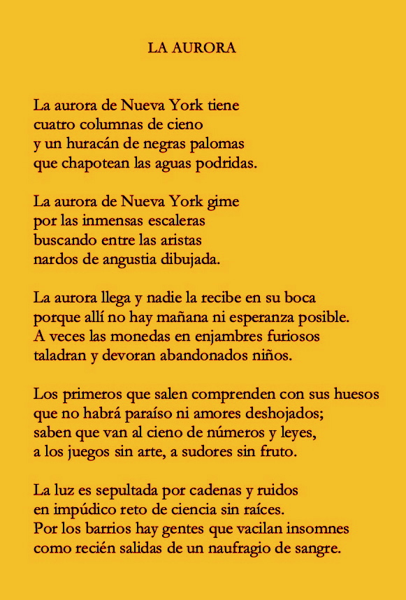 Caponnetto-Poesiaperta: Federico García Lorca - Tres