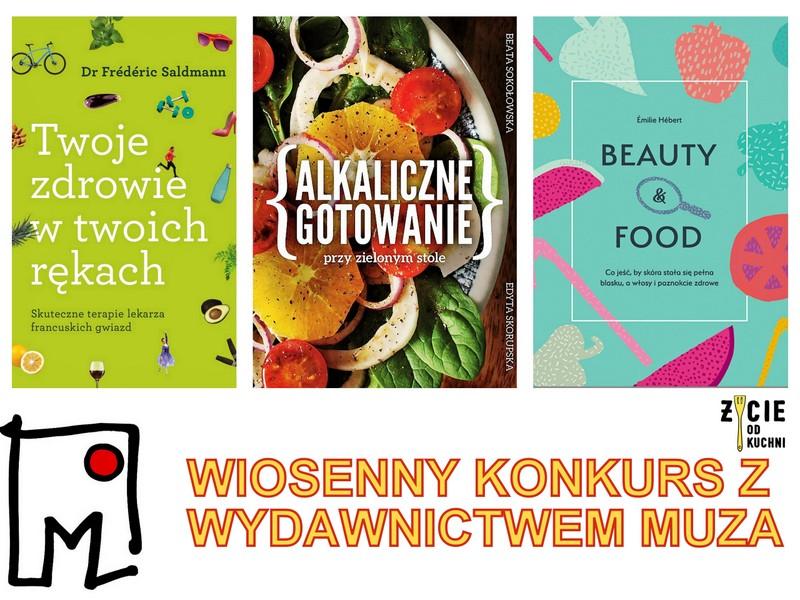 muza, wydawnictwo muza, konkurs ksiazkowy, ksiazki, poradniki, zycie od kuchni