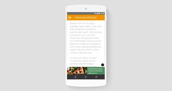 Cara Memindahkan Iklan Anchor Ke Bagian Bawah Halaman Mobile