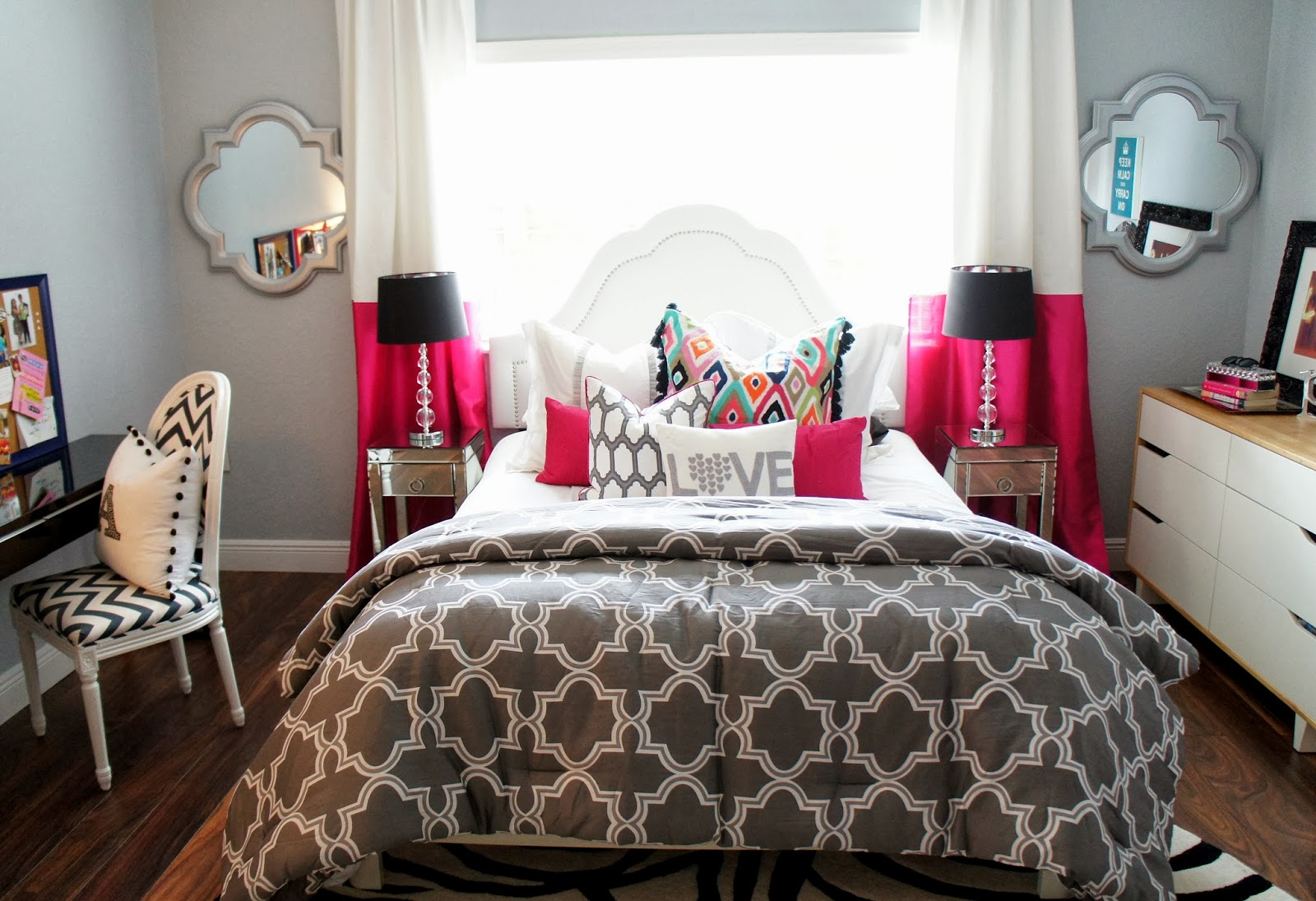 The Cuban In My Coffee: Teen Room Makeover, The Results ... on Teenage Grey Small Bedroom Ideas  id=53848