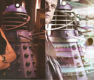 Dalek Time Controller Artwork from To The Death and Dark Eyes