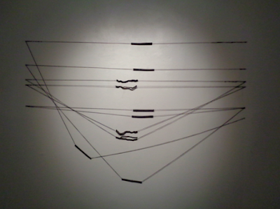 verna vogel string art installation at Artpoint, Upstairs Gallery   Dec 2017 - Jan 2018
