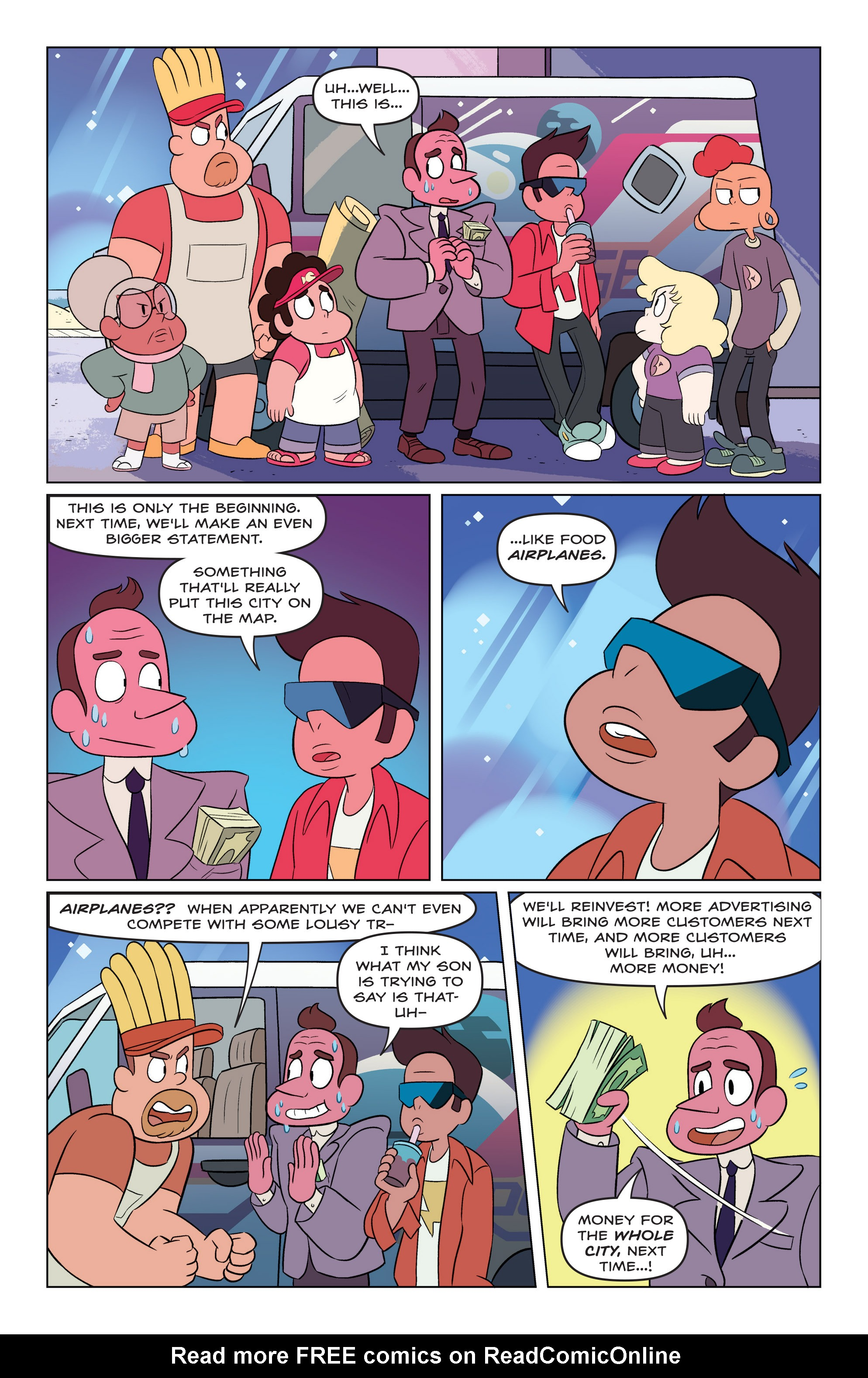 Read online Steven Universe Ongoing comic -  Issue #3 - 17