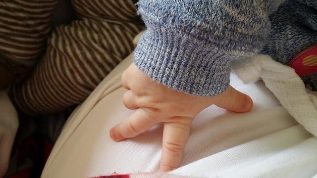 vauvan käsi, harso