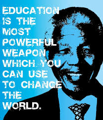Education Is A Weapon That Can Change The World