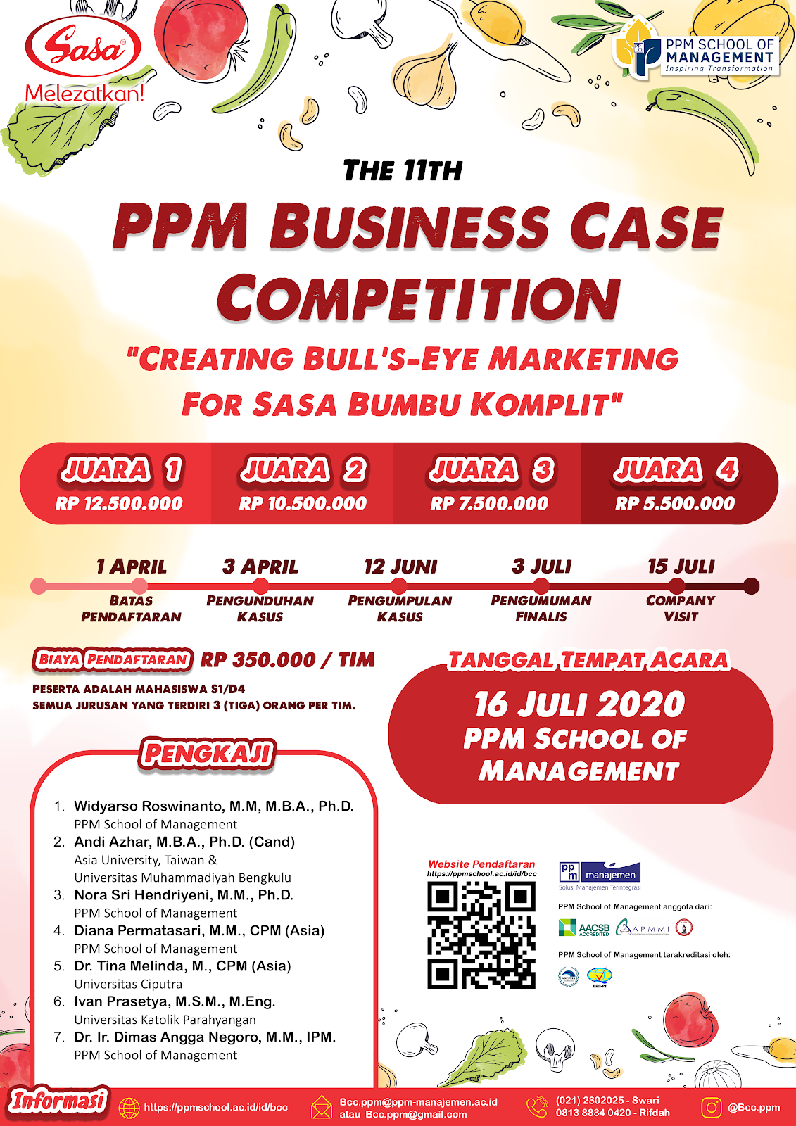 Business Case Competition 2020, Hadiah 36 JT